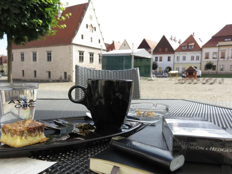 Breakfast in Bardejov