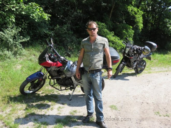Ukraine motorcycle trip