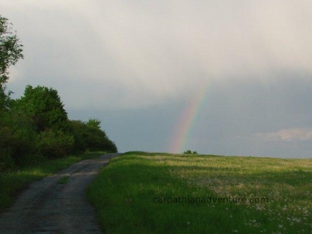 Carpathian rainbow