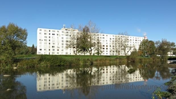 Socialist apartment block