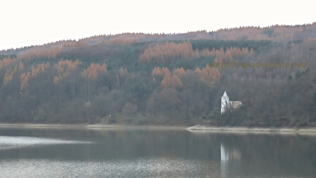 Church on an Autumn lake