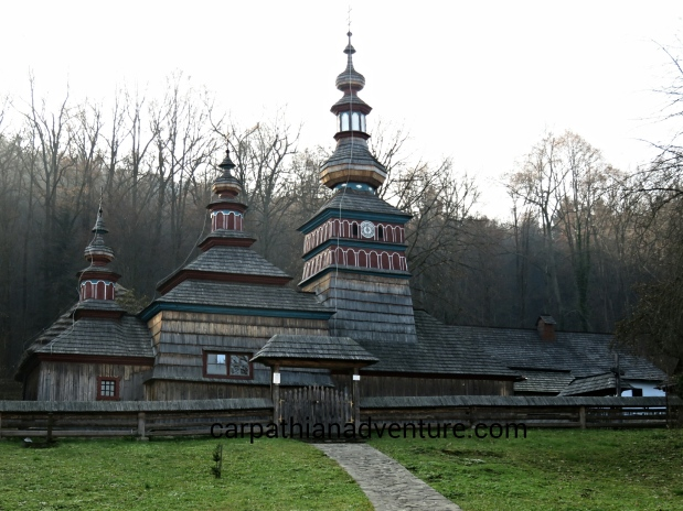 Old wooden Slavonic church