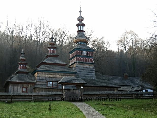 Old wooden Slavonicchurch