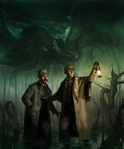 A Cthulhu – Sherlock Holmes Crossover Christmas