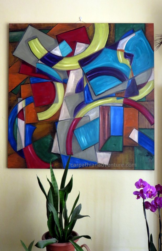 Abstract paintings series