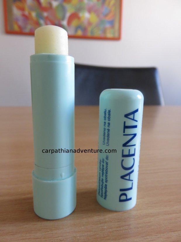 Placenta lip balm