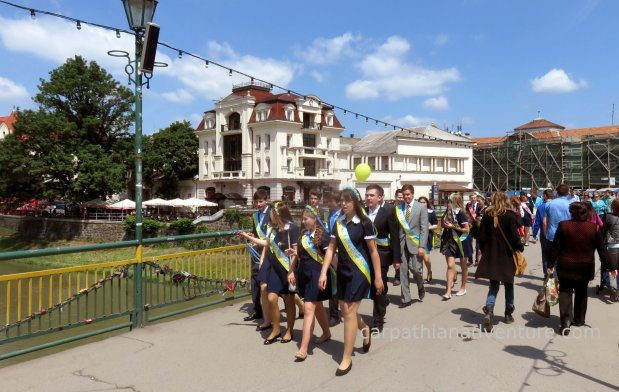 School's out in the Ukraine