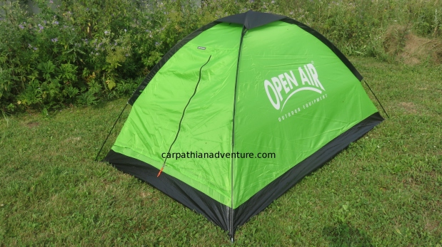 Open Air Vestmarka tent review