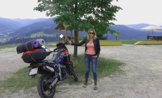 Motorbike camping trip
