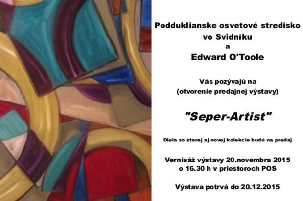 Art Exhibition in Svidnik, Slovakia