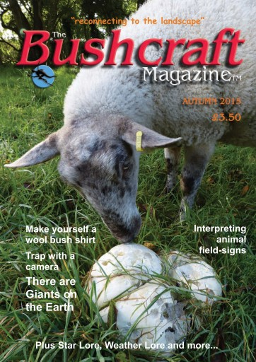 Bushcraft Magazine Autumn Article